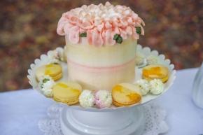 """Vanilla bean 4"""" cake"""